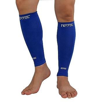 Featol Pantorrillas Medias de compresión sin pie, para la recuperación del síndrome del nervio tibial