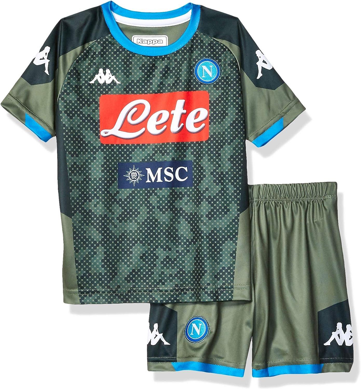 Amazon Com Ssc Napoli Italian Serie A Boys Junior Away Match Kit 2019 20 Clothing