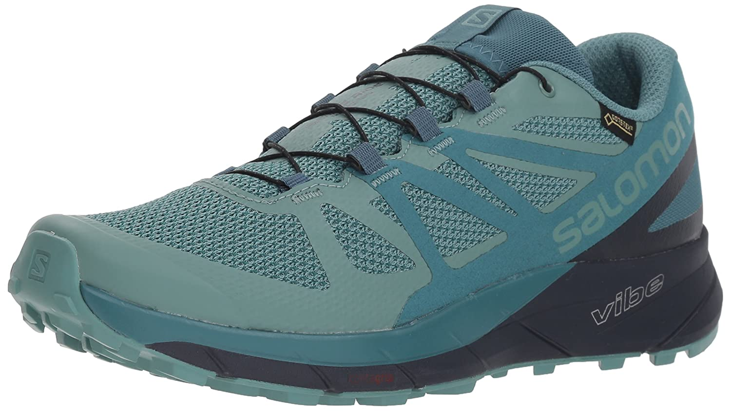 SALOMON Women s Sense Ride GTX Invisible Fit Trail Running Shoes Sneaker