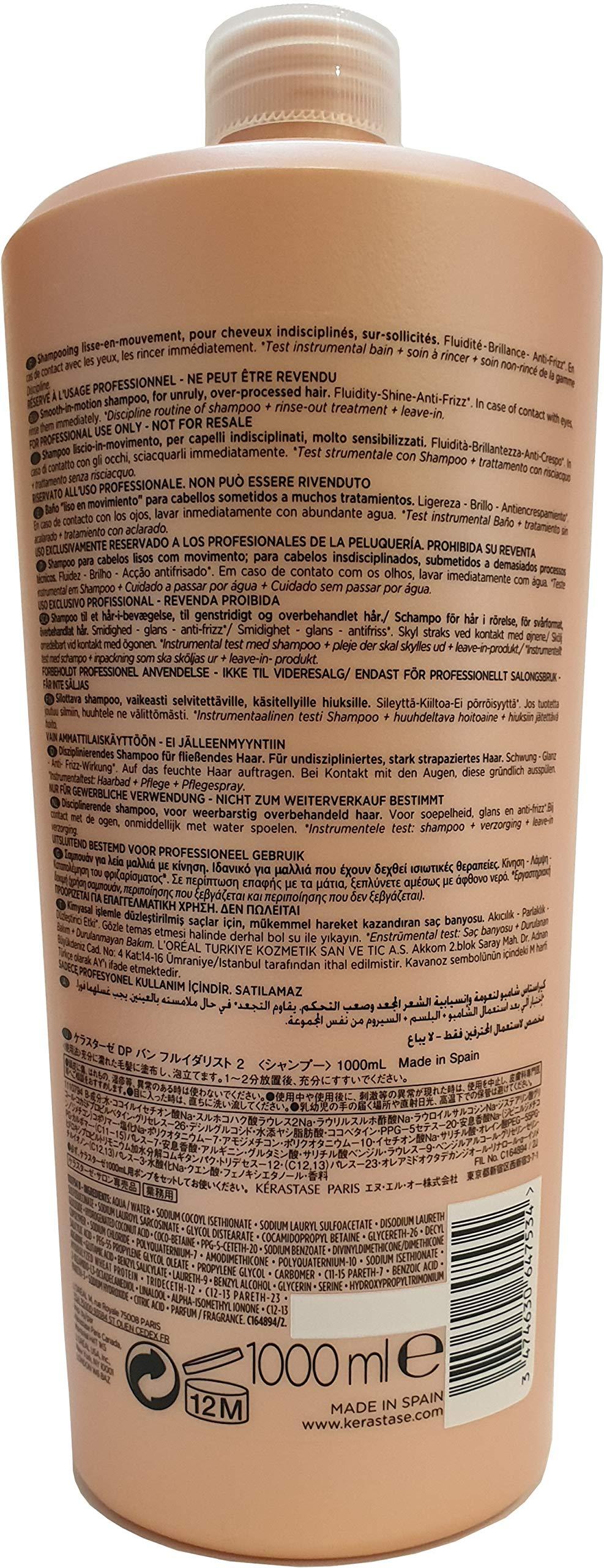 Kerastase Discipline Bain Fluidealiste No Sulfate Smooth-in-Motion Shampoo, 34 Ounce by Kerastase (Image #2)
