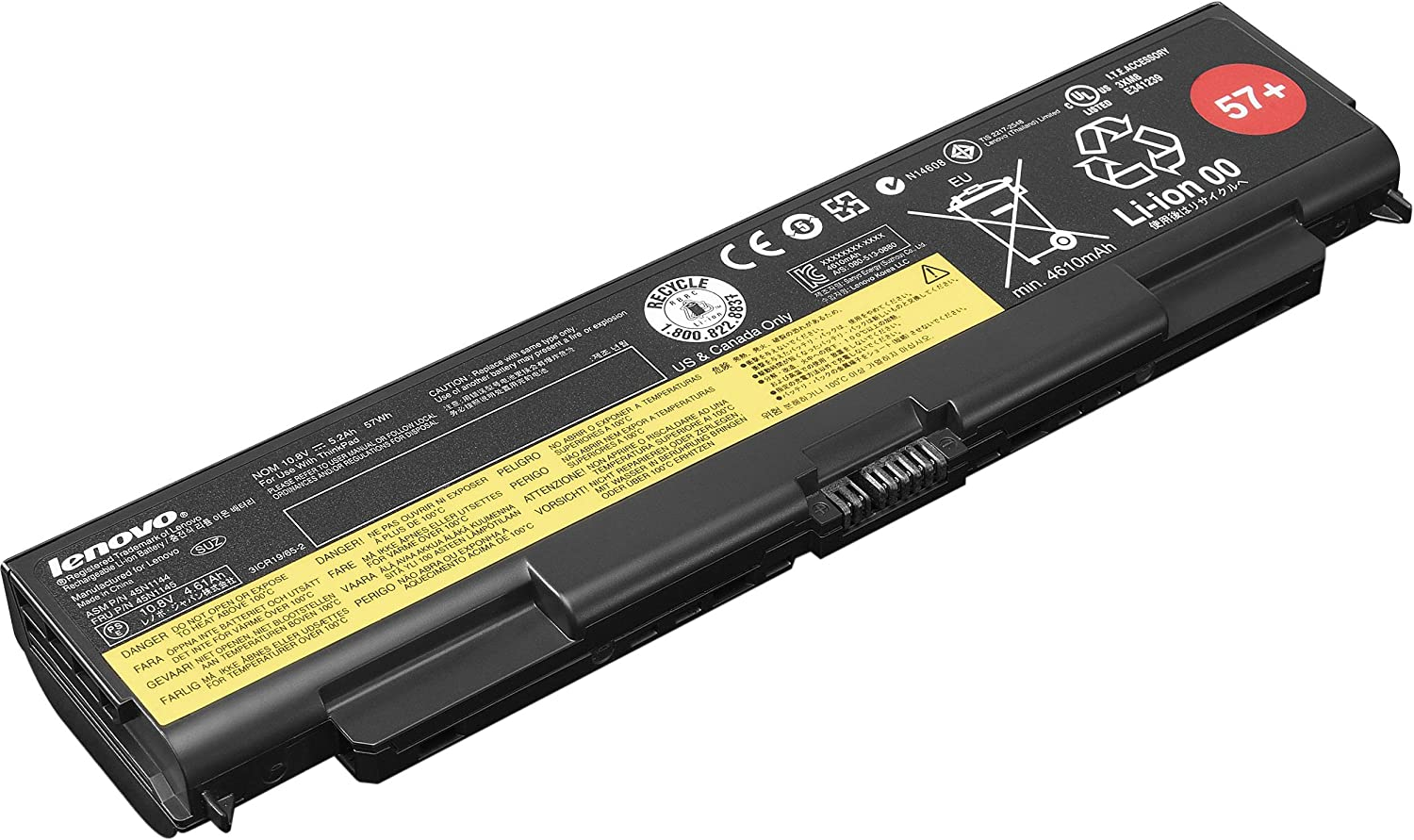 Lenovo Battery Fifty Seven Plus ( 0C52863 ) Factory Sealed Lenovo Originals for T440p, T540p, W540, W541, L540 , L440