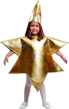 My Other Me Me-204392 Disfraz de estrella para niña, color dorado ...