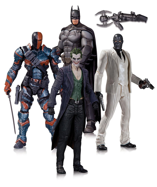 DC Comics - Set de 4 figuras de acción Batman (JUL140295)