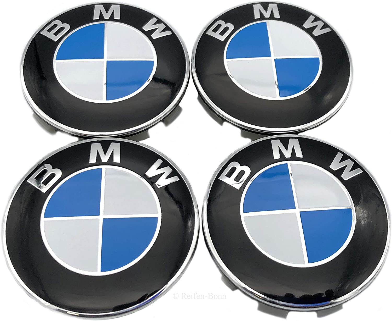 4x BMW 68mm 4 Tapas de cubo para llantas de aluminio 36136783536 Cubierta de llanta tapas de buje Cubiertas 4 piezas adecuado para BMW 1er 2er 3er 4er 5er 6er 7er 8er X1 X3 X4 X5 X6 Z3 Z4 F20 F30