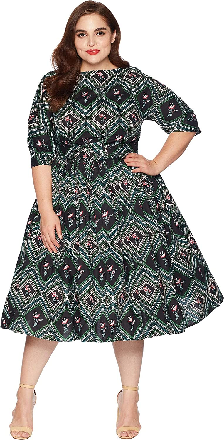 Unique Vintage Women\'s Plus Size 1940s Style Sleeved Sally ...