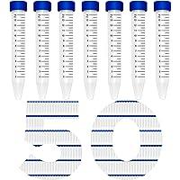 Pack of 500 MTC Bio C2601 Polypropylene Centrifuge Tube with Sterile Bag 15 mL Capacity Flat Screw Cap