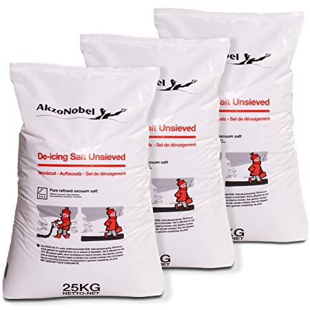 75kg de Icing Salt Spreader Salt Road Salt: Amazon co uk