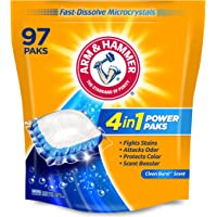 97-Ct Arm & Hammer 4-in-1 Laundry Detergent Power Paks