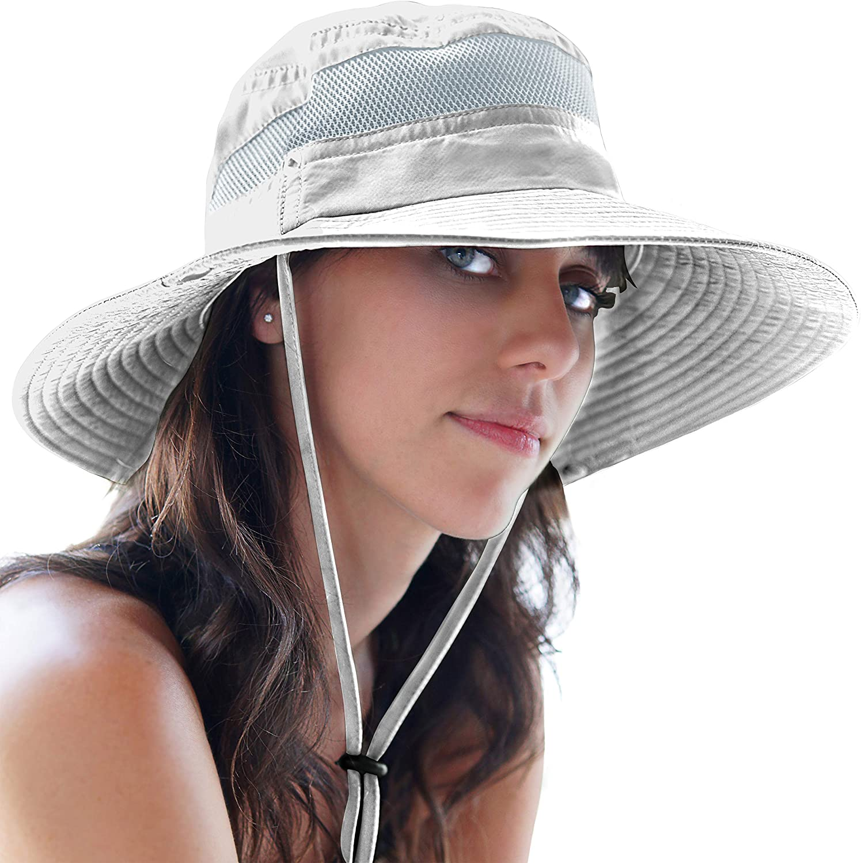 GearTOP Fishing Hat and Safari Cap with Sun Protection   Premium UPF 50+ Hats for Men and Women - Navigator Series