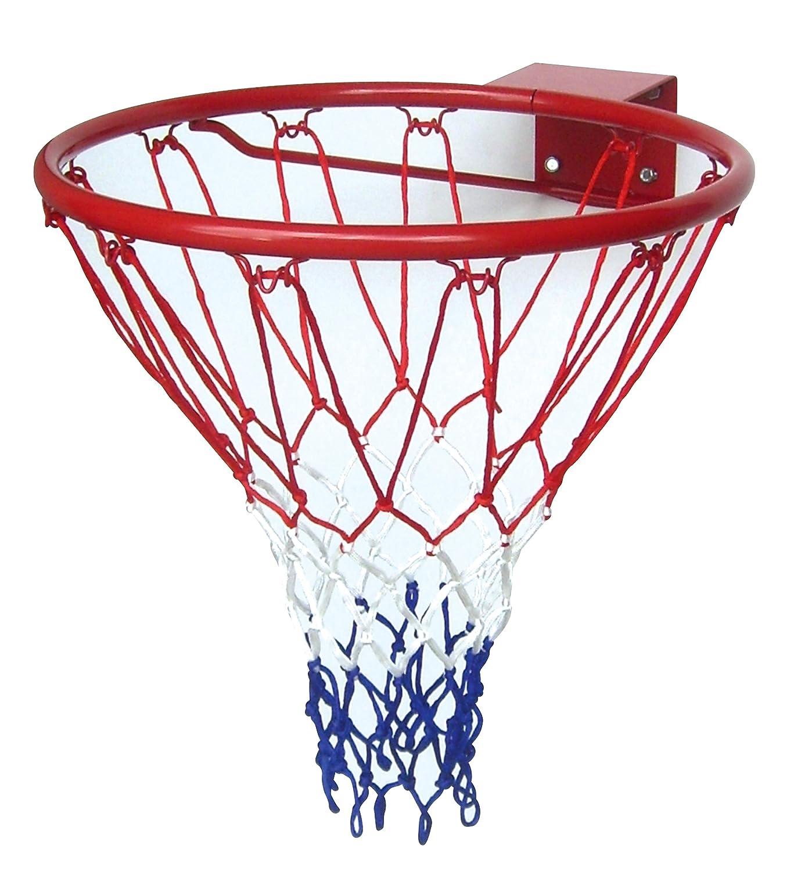 Solex 20325 - Canasta de baloncesto con red (46 x 46 x 13 cm), color rojo Solex Sports