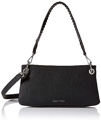41e364c5fd Amazon.com  Calvin Klein Raya Bubble Lamb Novelty Woven Chain Demi ...