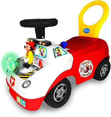 Amazon.com: Kiddieland Disney Mickey - Camión de bomberos ...