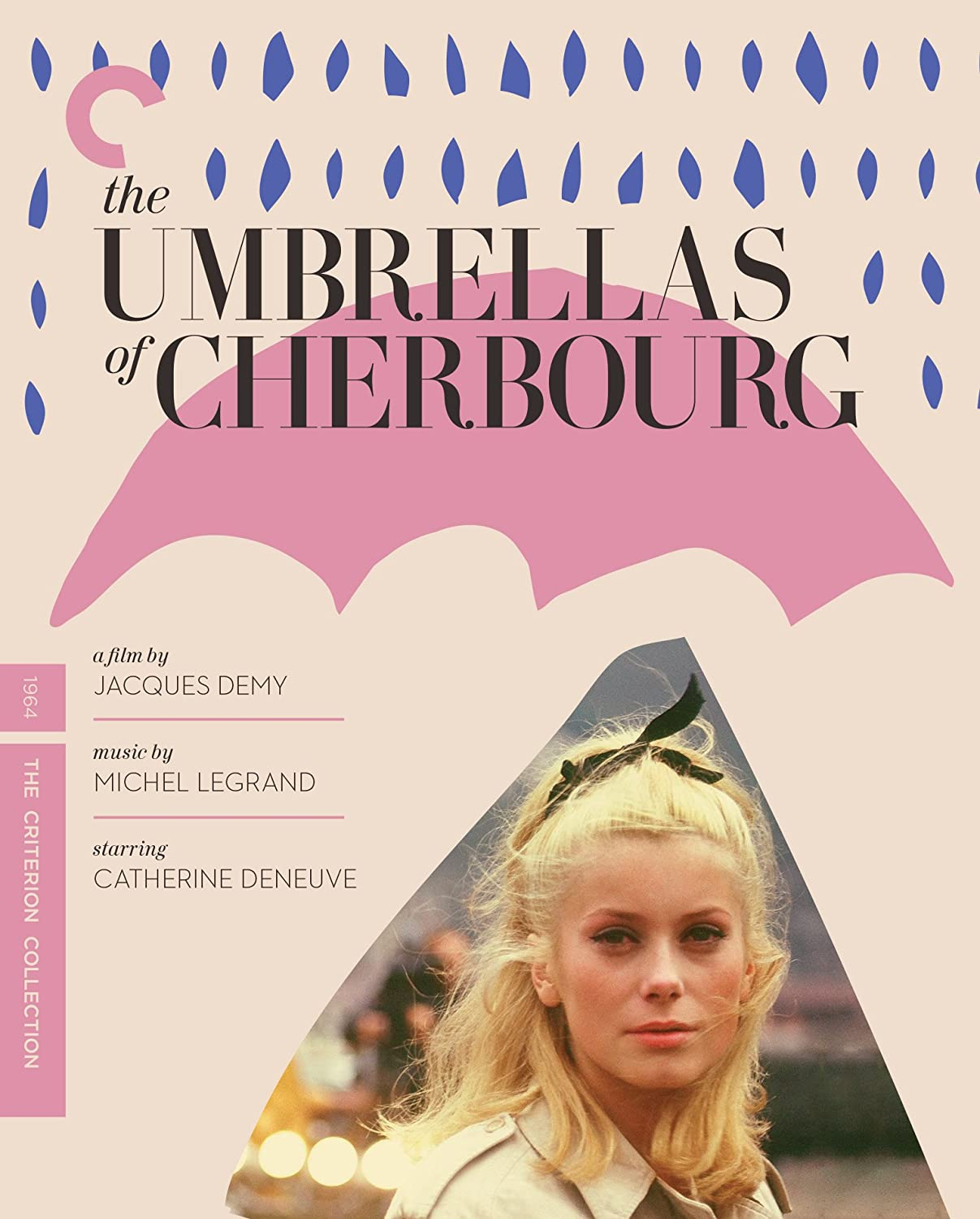 Image result for the umbrellas of cherbourg poster criterion