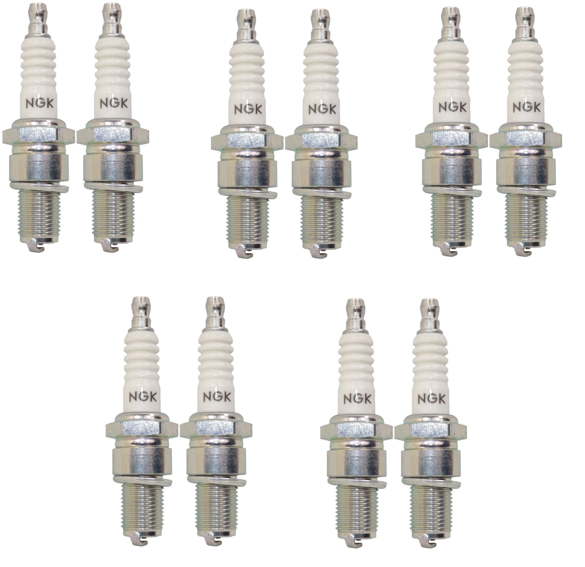 NGK Spark Plug Bpmr7a for Stihl, Husqvarna, Poulan Power Equipment, and More (Sold in Pair) (5)