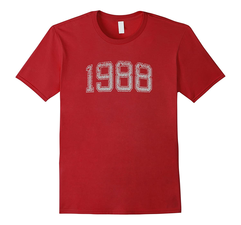 1988 Tshirt Vintage Gift Asphalt-Awarplus