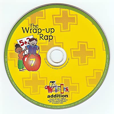 Learning Wrap-ups Addition Rap CD - Audio Math Problems with Music: Toys & Games