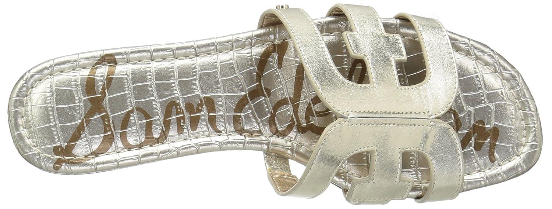 Sam Edelman Women's Bay Slide Sandal B0762T43RC Leather 10.5 B(M) US|Jute Metallic Leather B0762T43RC c4451e