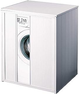 Mueble cubrelavadora XXL para todas las lavadoras/secadoras ...