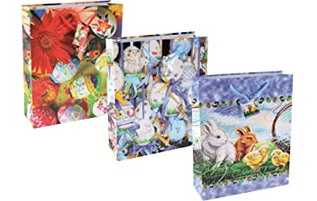 Tsi 84310 set of 12 large easter gift bags with rope handle tag tsi 84310 set of 12 large easter gift bags with rope handle tag 3 designs negle Images