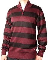 Ecko Unltd. Young Men's Rugby Stripe 1/4-Zip Sweater