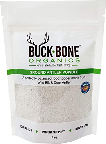 Buck Bone Organics Ground Wild Elk and Deer Antler Powder