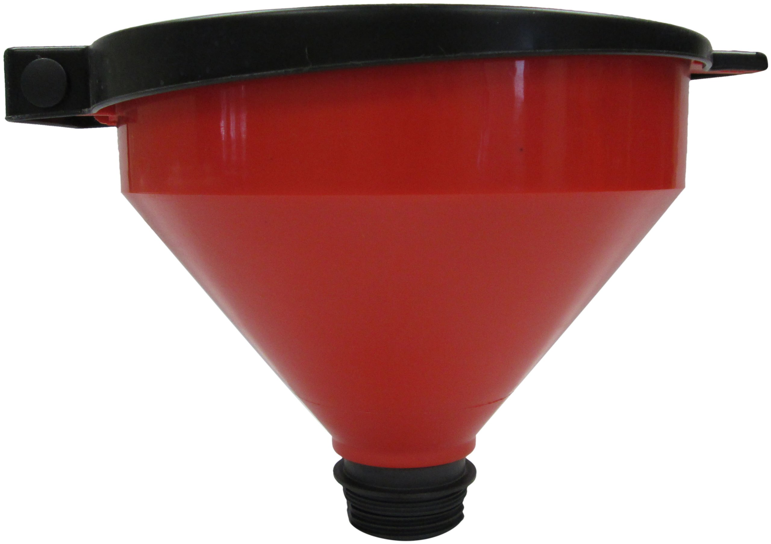 LUBEQ 02568 3 Qt. Plastic Waste Oil Funnel with Lid