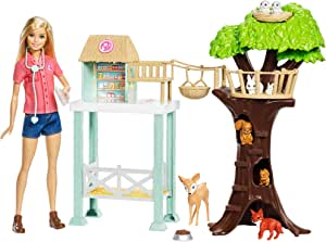 Barbie Animal Rescuer Doll & Playset