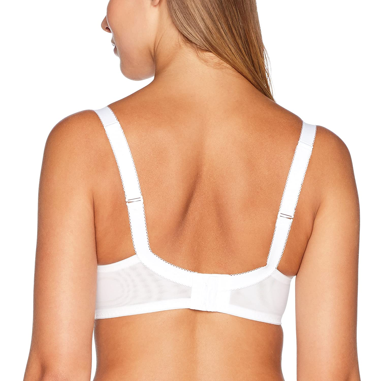 Wonderbra Modern Chic Balcony Bra W05G2 Black at Amazon Womens Clothing store: