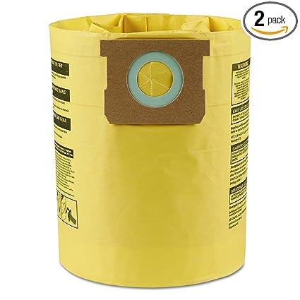 Amazon.com: Bolsas de filtro de alta eficiencia Shop-Vac ...