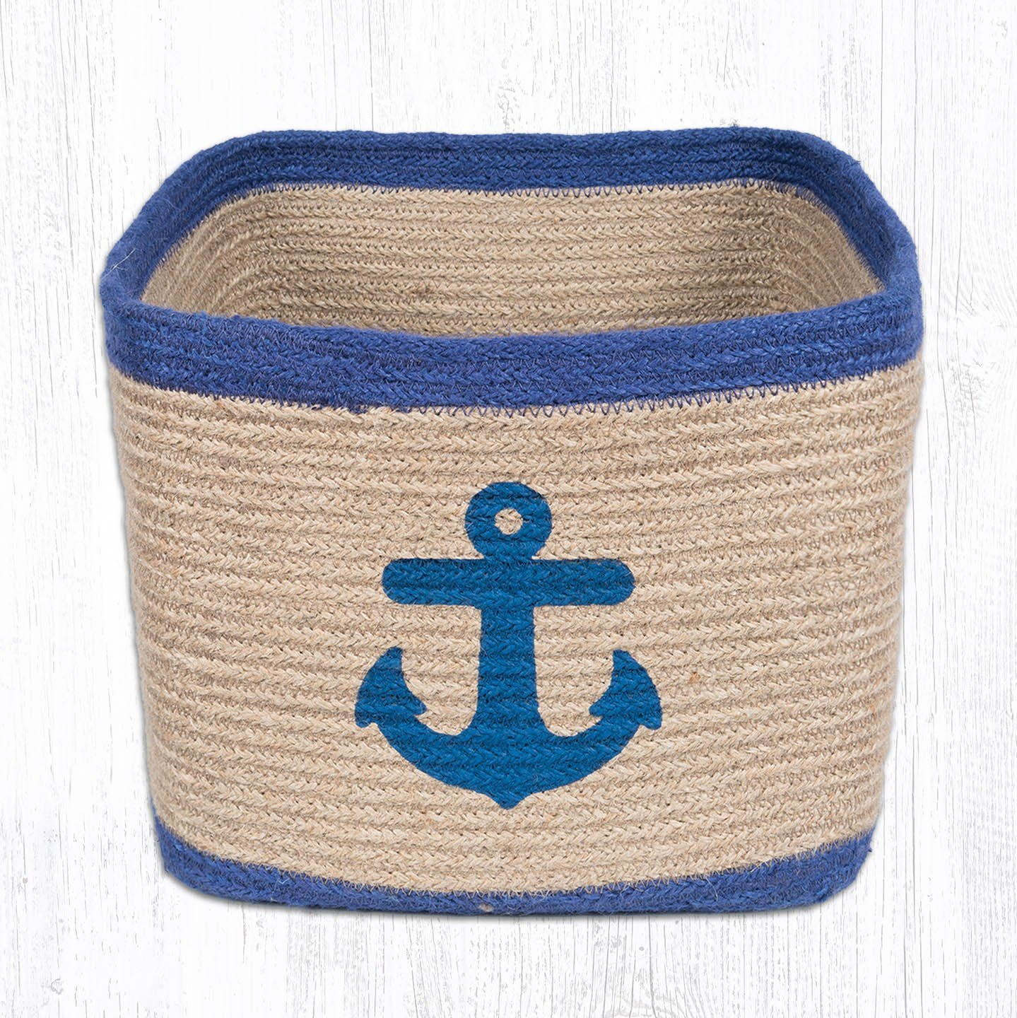Anchor Square Printed Basket 10 in. by 10 in.