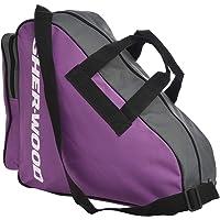 Sherwood Schaattas met hengsels, inliner-tas, ijshockey-bag met ritssluiting en praktische vakken, incl. verstelbare…