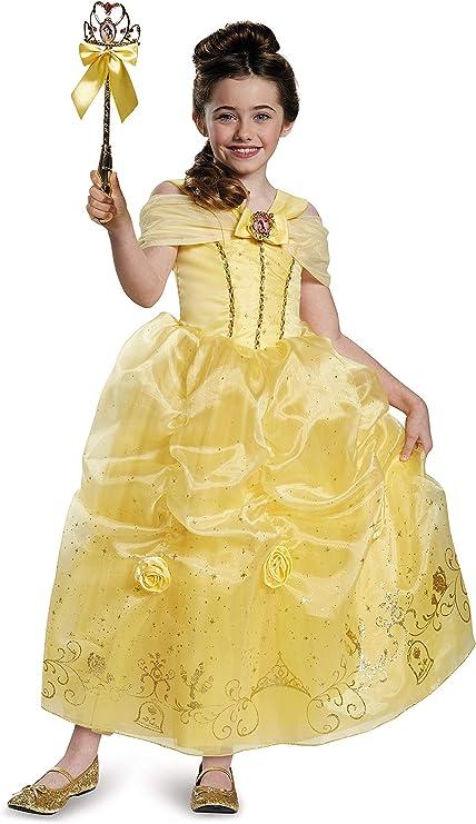 Amazon.com: Disfraz de la princesa Disney Bella de La bella ...