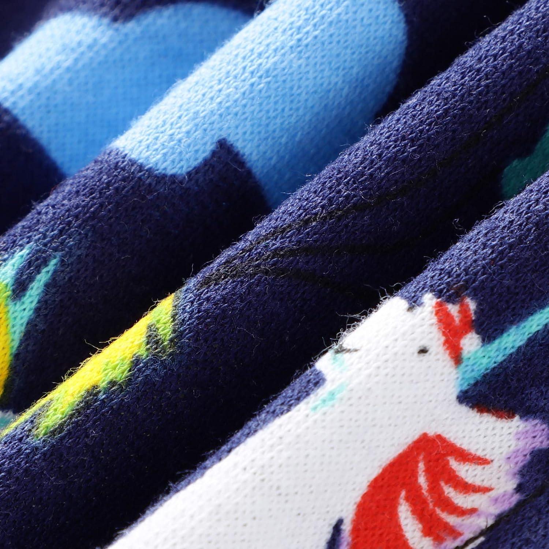 KIDSALON Little Boys Cotton Cute Outfits Infant Pajamas Long Sleeve Shirt /& Clothing Set