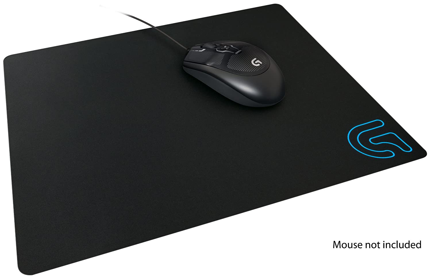 amazon com logitech g240 cloth gaming mouse pad for low dpi gaming