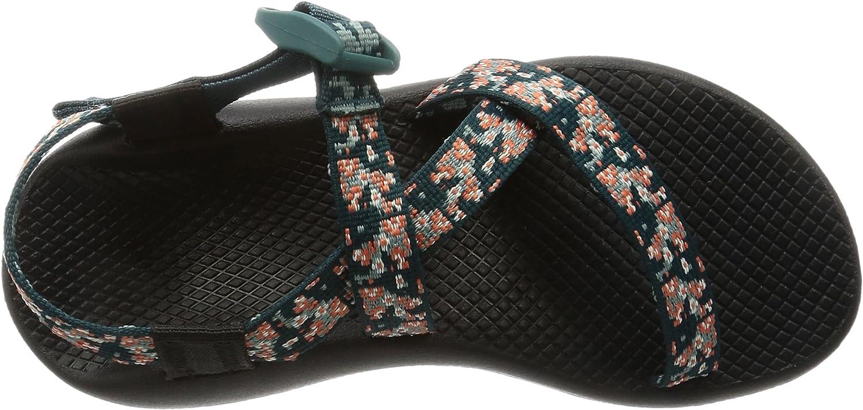 Chaco Women's Z1 Classic Athletic Sandal Trellis Teal