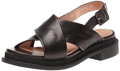 Robert Clergerie Women's Caliente Dress Sandal, Black Napa, ...