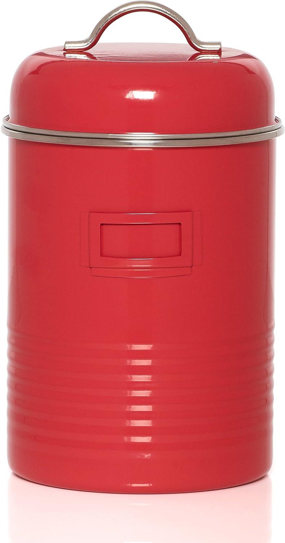 Kamenstein Food Storage Canister, Large, Red