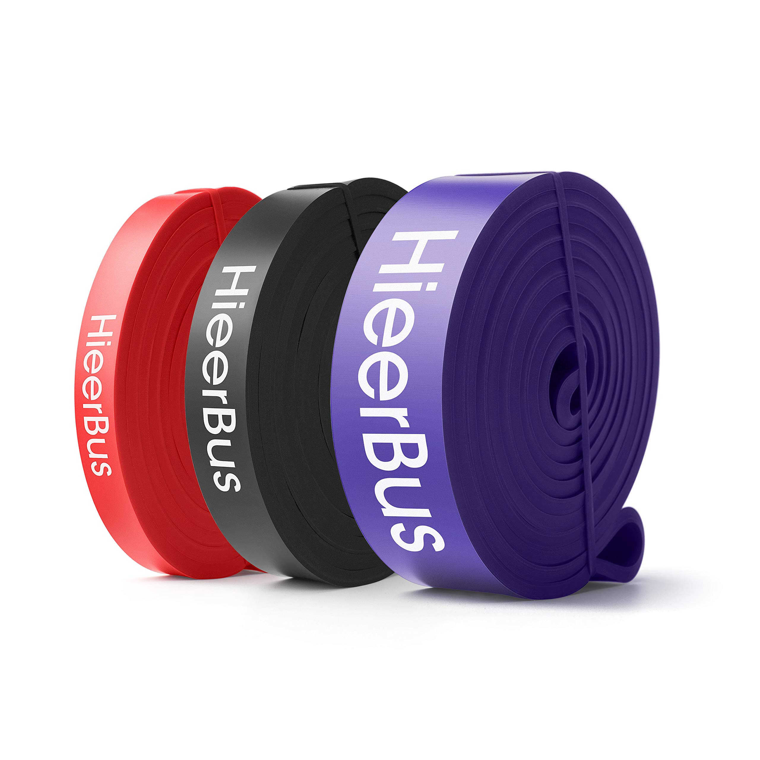 HieerBus Pull Up Bands,Resistant Workout Bands, Pull Up Assist Band Stretch Exercise Resistance Band Rope for Body…