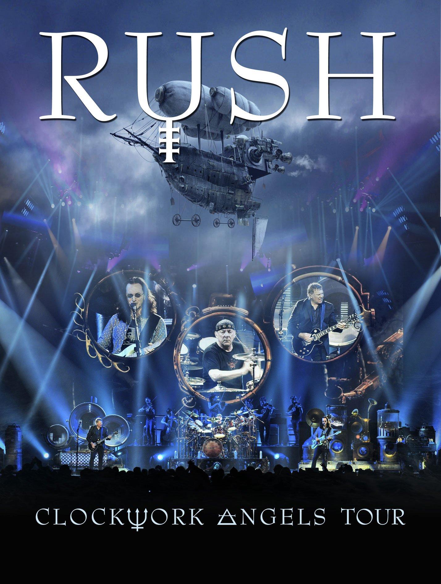 Blu-ray : Rush - Clockwork Angels Tour (Blu-ray)