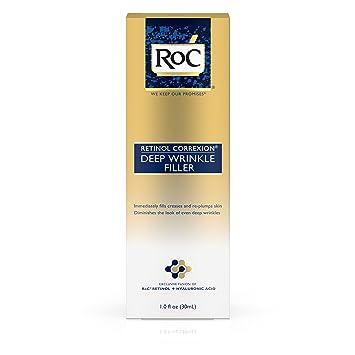Amazoncom Roc Retinol Correxion Deep Wrinkle Facial Filler 1 Oz