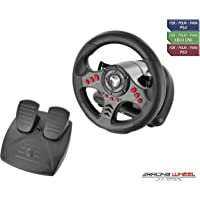 Subsonic - Volant Racing Wheel Universal avec pédalier pour Playstation 4  - PS4 Slim - PS4 Pro - Xbox One - Xbox one S - PS3