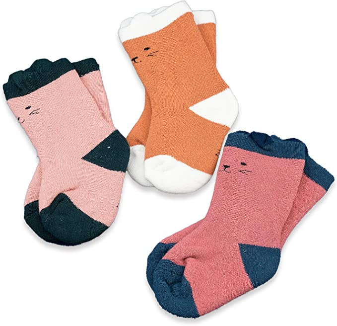 BABY GIRLS 5 PAIRS PINK SOCKS SIZE AGE 3-6 MONTHS NEW NEXT