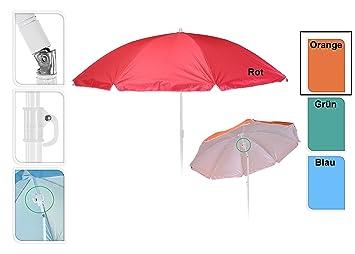 Amazon De Meinposten Sonnenschirm O 138 Cm Strandschirm Schirm Mit
