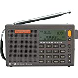 RADIWOW R-108 Radio Digital Portable Radio FM Stereo LW/SW/MW/AIR/DSP Receiver with LCD Sound for Indoor&Outdoor…