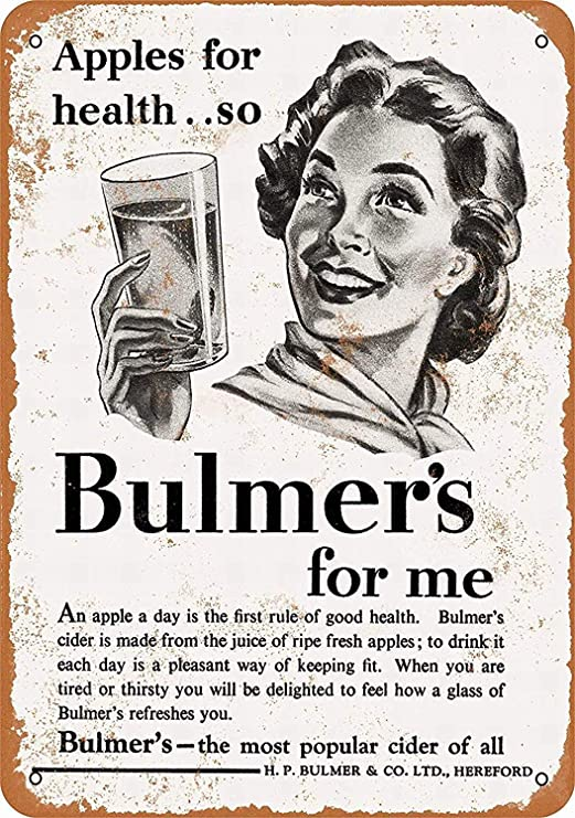 Taco Thursday Bulmers For Me Pintura de Hierro Cartel de ...