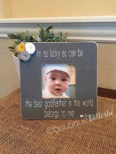 Amazon.com: Personalized Godparent Frames - Handmade Godmother ...