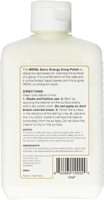 Meinl Sonic Energy MGP Percussion limpieza