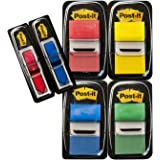 Post-it I680-P6 Index Promotion (4 x 50 Haftstreifen, 25,4 x 43,2 mm plus 2 x 24 Index Pfeile) rot, gelb, blau, grün