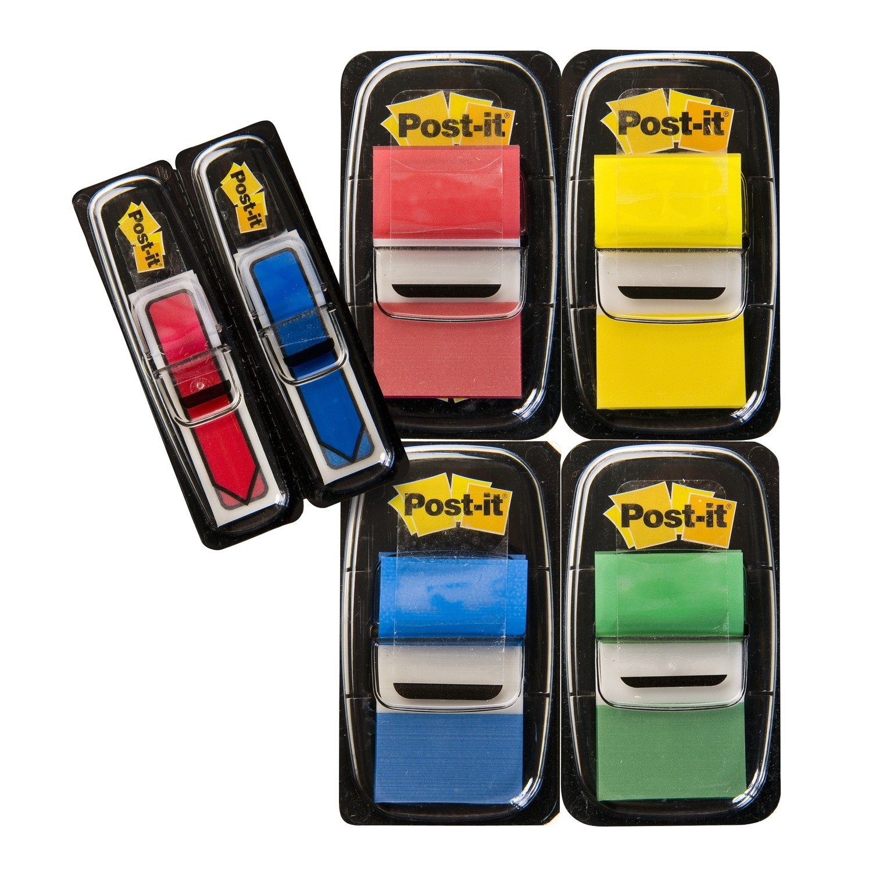 Post-it 67378 Segnapagina, Formato Medium, Confezione 4+2, Multicolore 3MITA I680-P6 Post-it®Index