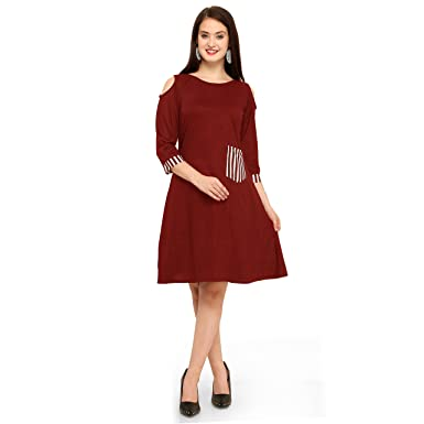 600911fe80fd7a ... Tops for Women Under 500 Girls Western top wear 2018 Ladies Long Casual  Off Shoulder Party Latest Girl Woman Tunic Ladys Formal Designer top  Amazon .in  ...
